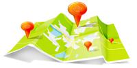 Пункты выдачи на карте